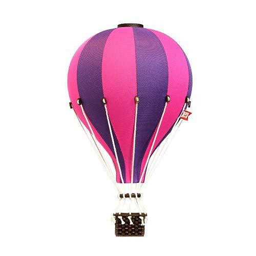 DEKORATIVER BALLON AUS ROSA-VIOLETT, Ein Geschenk für ein Kind, Dekorationen für Kinder, Raumdekoration, Handgenähter Ballon