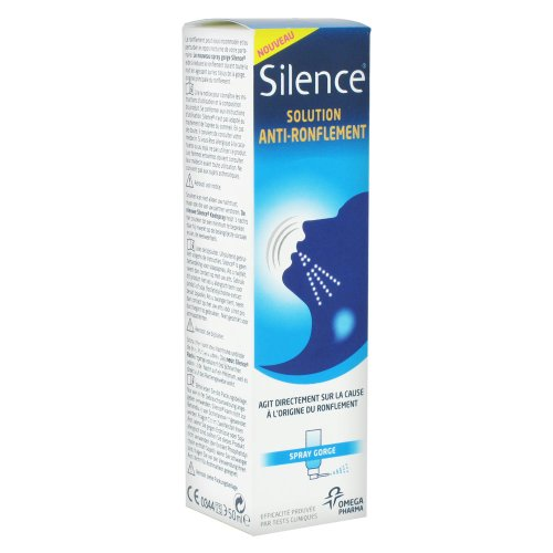 Silence Anti-Snoring Solution Throat Spray 50ml