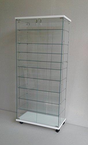vetrine,regolabile,9 ripiani,vetrina,vetrinette da banco,vetrina,vetrinetta,arredi negozi