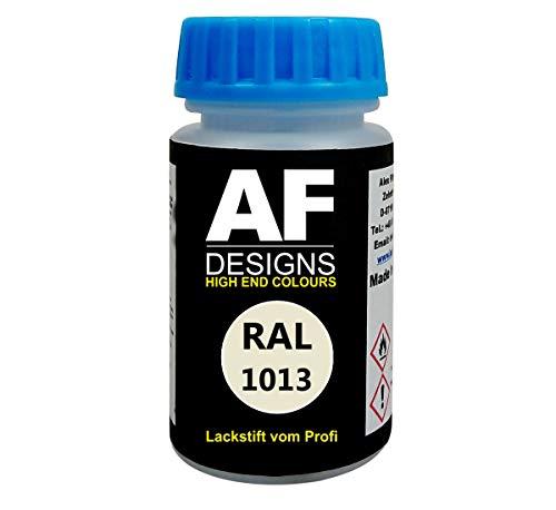Alex Flittner Designs Lackstift RAL 1013 PERLWEISS matt 50ml schnelltrocknend Acryl