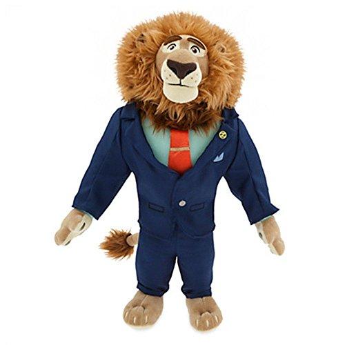 Ufficiale Disney Zootropolis 41cm sindaco Cuor di leone peluche morbido