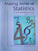 Making Sense of Statistics: A Conceptual Overview by Pyrczak Fred (2000-10-01) Paperback