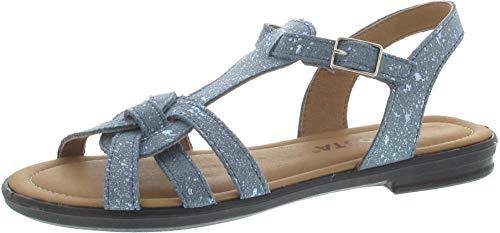RICOSTA Birte (Sandale blau / 32)