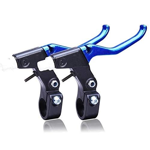 La Bicicleta de Ciclo palancas de Freno Piezas de Recambio Aleación de Aluminio Manillar MTB Bicicleta de Carretera Azul y la Palanca del Freno BlackBicycle Cycling Componentes Partes