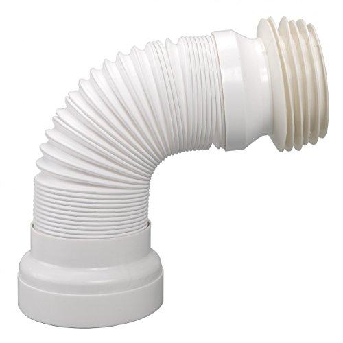 WC-Anschluss-Rohr flexibel mit Universalverbindung DN 98 - DN 105