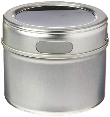 Fackelmann 02508 Gewürzdosen 6,2 x 5,5cm, magnetisch,  1 Stück