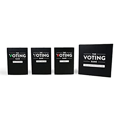 The Voting Game - The Party Game about your Friends (The Complete Card Game Set)
