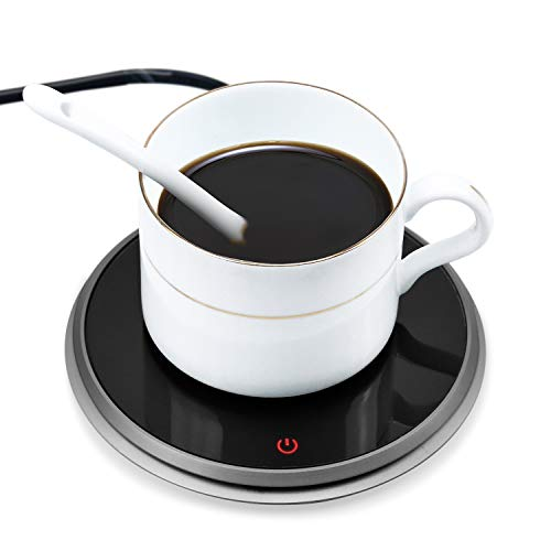 Wandefol Coffee Mug Warmer Electric Beverage Warmer Touch Sensitive Button...