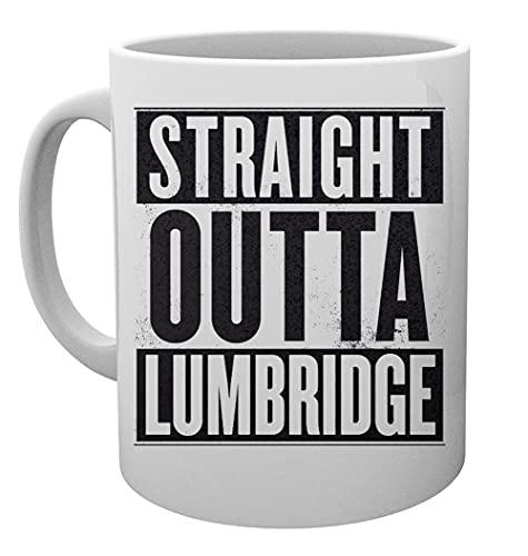 Straight Outta Lumbridge Old School Kaffeebecher Tassen Mug Cup