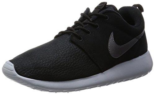 Nike Roshe One Suede, Scarpe Sportive, Uomo, Nero (Black/Mtlc Dark Grey-Wolf Grey), 44