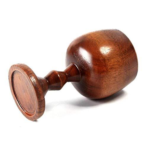 120 ml Weinlese-hölzernen Cup Wein-Becher Handgefertigte Holz-Bierkrug Bar Essen Trinkbecher Klassisches Holz Tassen Trinkgefäß Geschenk