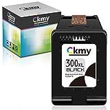 CKMY Remanufactured for HP 300 XL 300XL Cartucho de Tinta (1 Negro) per HP PhotoSmart C4680 C4780 DeskJet F4580 F2480 F2400 F2420 F4280 F4500 D5560 Envy 100 F4500 C4780 120 D1658 D2645 D2663 D2666