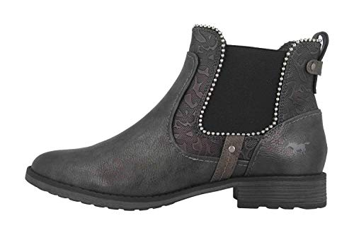 MUSTANG Shoes Boots in Übergrößen Grau 1265-516-259 große Damenschuhe, Größe:45
