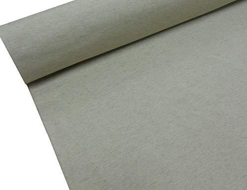 Confección Saymi - Metraje 2,45 MTS. Tejido loneta Lisa Nº 101 Color Lino con Ancho 2,80 MTS.