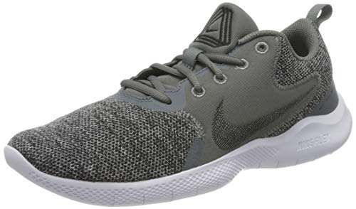 Nike Flex Experience RN 10, Scarpe da Corsa Uomo, Smoke Grey/Black-Black-Grey Fog, 45 EU