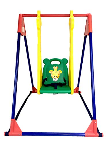 BJW Infant to Toddler Indoor Swings with Giraffe Design