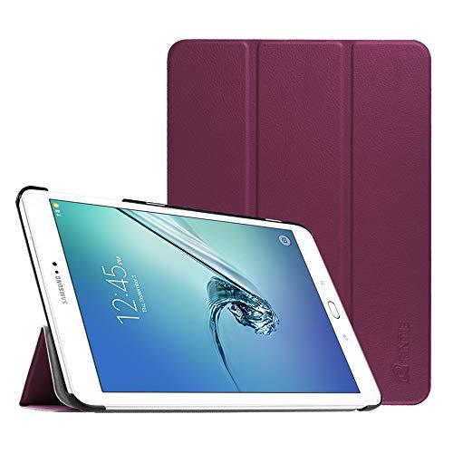 Fintie Hülle für Samsung Galaxy Tab S2 9.7 T810N / T815N / T813N / T819N 24,6 cm (9,7 Zoll) Tablet-PC - Ultra Schlank Ständer Cover Schutzhülle mit Auto Schlaf/Wach Funktion, Lila