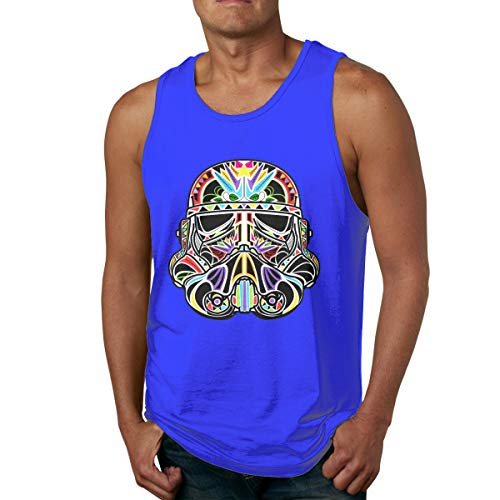 Sugar Stormtrooper Day of The Clone - Camiseta deportiva para hombre Azul azul S