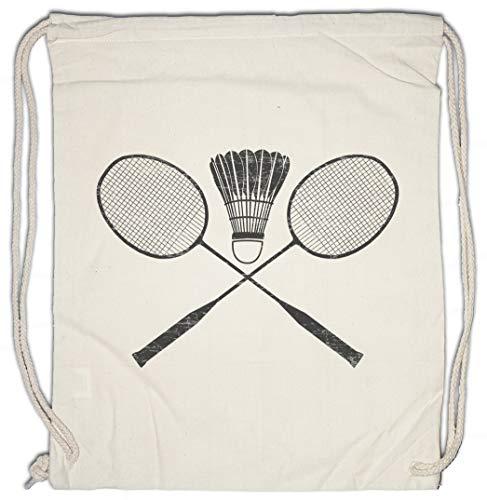 Urban Backwoods Badminton Tools Bolsa de Cuerdas con Cordón Gimnasio ⭐