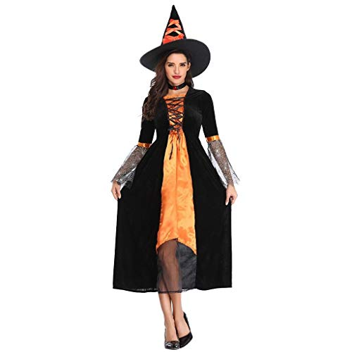 LXJ Halloween Party Volwassen Vrouwen Fantasia Sexy Maleficent Kostuum Heks Cosplay Fancy Dress+Hoed Disfraz Preso FC
