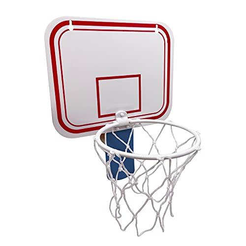 Alephnull Canasta de basura, canasta de baloncesto, oficina, baloncesto, portería de baloncesto, para oficina, salón y dormitorio (azul)