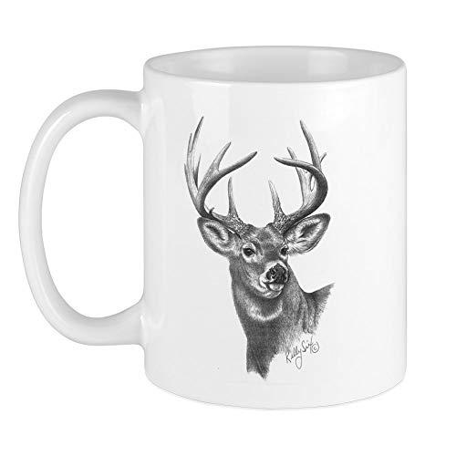 CafePress White Tailed Deer Mug Unique Coffee Mug, Coffee Cup