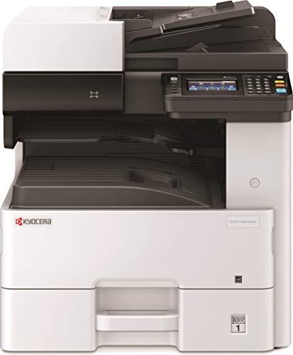 Kyocera Klimaschutz-System Ecosys M4125idn/KL3 3-in-1 SW Multifunktionsdrucker. 3 Jahre Kyocera Life vor Ort Service. Duplex-Einheit, 25 Seiten pro Minute mit Mobile-Print-Funktion. Formate bis DIN A3