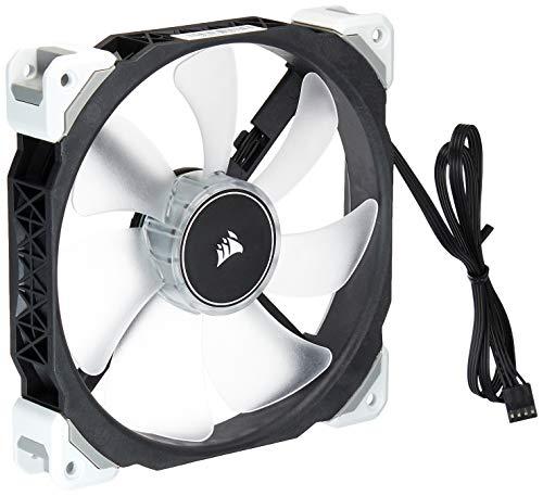 Corsair ML140 Pro LED, White, 140mm Premium Magnetic Levitation Cooling Fan,CO-9050046-WW