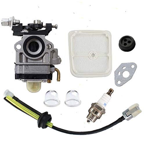 Shnile SRM2601 Carburetor & Air Filter Tune Up Kit Compatible with Echo PE2601 SRM2610 PAS2601 SRM270 SRM270U Trimmer Weed Eater WYJ-192 12300057732
