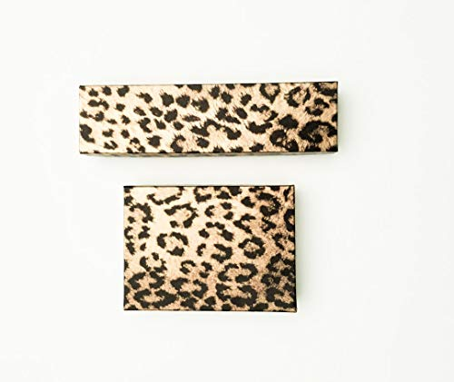 Leopard Print Jewelry Gift Boxes
