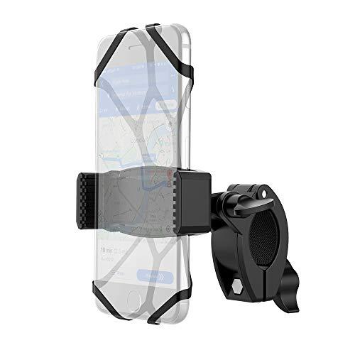 YOSH Handyhalterung Fahrrad Zubehör Handyhalter fürs Fahrrad Motorrad Radsport GPS Universal 360° drehbare für iPhone X/8/7/6/6s Plus Samsung S9/S8/S7/S6/S5/A5 Huawei, Google Pixel, Nokia, Xiaomi