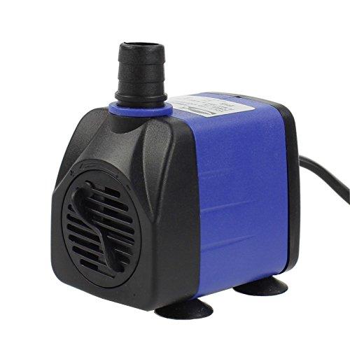 AQUANEAT 160 GPH Submersible Water Pump Adjustable Powerhead Aquarium Fish Tank Fountain Hydroponic