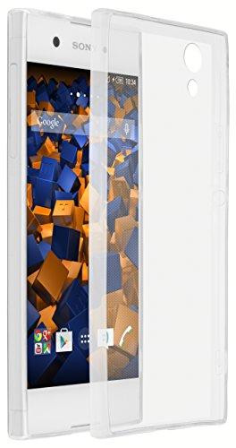 mumbi Hülle kompatibel mit Sony Xperia XA1 Handy Hülle Handyhülle dünn, transparent