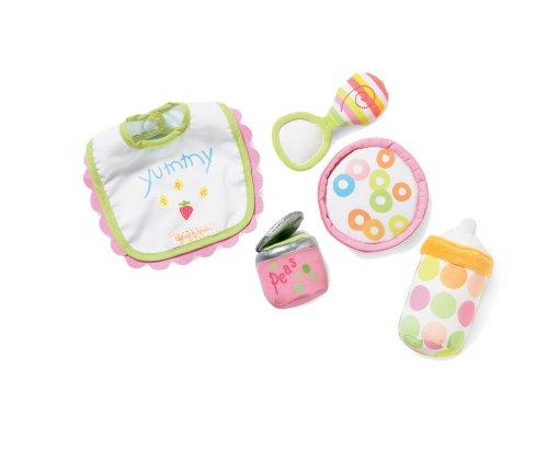 Manhattan Toy Baby Stella Feeding Baby Doll Accessory Set for 12' and 15' Soft Dolls