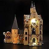 icuanuty Kit de Iluminación LED para Lego 75948, Kit de Luces Compatible con Lego Harry Potter - Torre del Reloj de Hogwarts (No Incluye Modelo Lego)