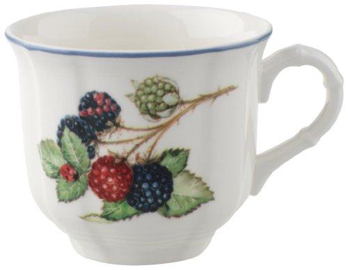 Villeroy & Boch Cottage Kaffeeobertasse, Premium Porzellan, White