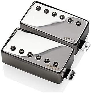 EMG REV Revelation Signature Passive Alnico 2 Humbucker Guitar Pickup Set, Chrome