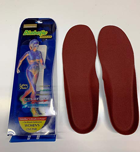 Diabetic Insoles with Holofiber for Increasing Blood Flow (Women's)