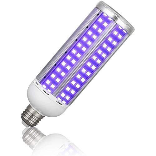 Preisvergleich Produktbild AKBOY UV Desinfektion Lampe 60W Ultraviolett Lampe Desinfektion,  Desinfektion Lampe UVC Gegen Viren LED Glühbirne mit Fernbedienung Schalter Ozonfreie,  UVC Sterilisations Lampe Luftreiniger