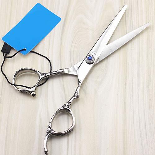 YK SCISSORS Ciseaux à Cheveux Professionnels 2pcs Gaucher, Ciseaux De Coupe à Effiler Professionnels De 17 Cm (6.0\