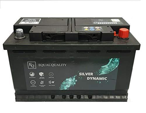 Batteria Auto Equal Quality 12v 100 Ah Ampere 820A DX Pronta all'uso Garanzia 24 mesi