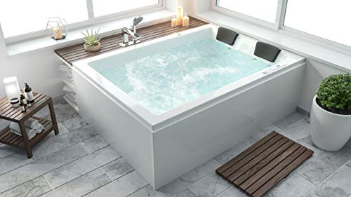 emotion Andalusia Whirlpool Set ohne Armatur rechts 180x130x62 cm