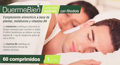 Saniproject Duermebien con Rhodiola 60 Comprimidos - 1 unidad
