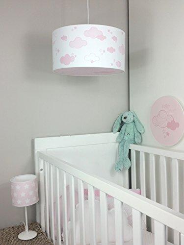 Plafondlamp/plafondlamp kinderkamer/babykamer/kinderlamp/babylamp (navy) roze