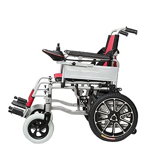 qwertyuio Rollstuhl Faltbar - Patinete Portátil Para Silla De Ruedas Eléctrica Para...