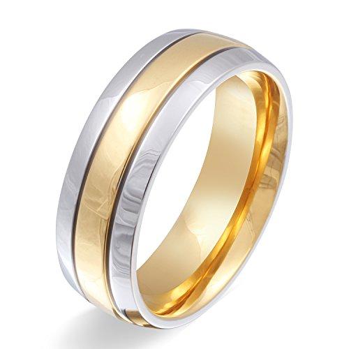 Juwelier Schönschmied - Unisex Partnerring Ehering Hochzeitsring Asilar Edelstahl 60 (19.1) 110Hac