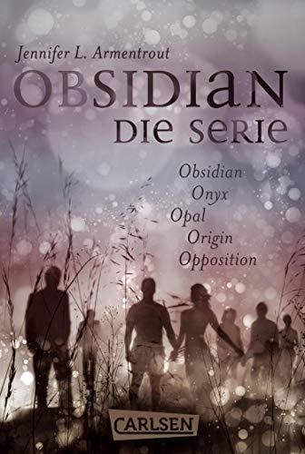 Obsidian: Band 1-5 der romantischen Fantasy-Serie im Sammelband!: Fantasy Romance zum Dahinschmelzen