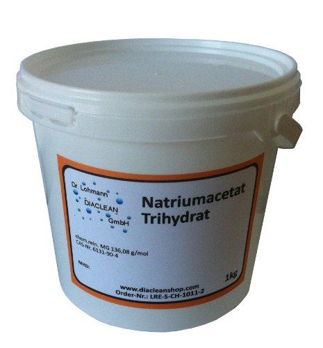 Natriumacetat Trihydrat - 1kg - C2H3NaO2 - Pharmaqualität