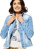 Cecil Damen Jeansjacke Übergangsjacke, Provence Blue, M