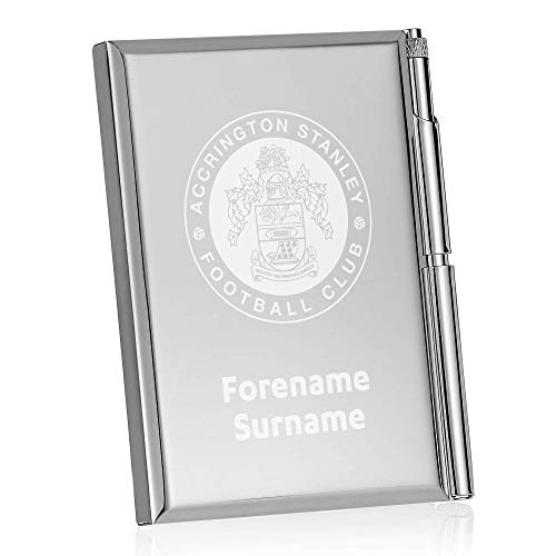 Official Personalised Accrington Stanley Crest Address Book